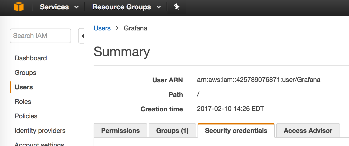 AWS IAM Identity Security